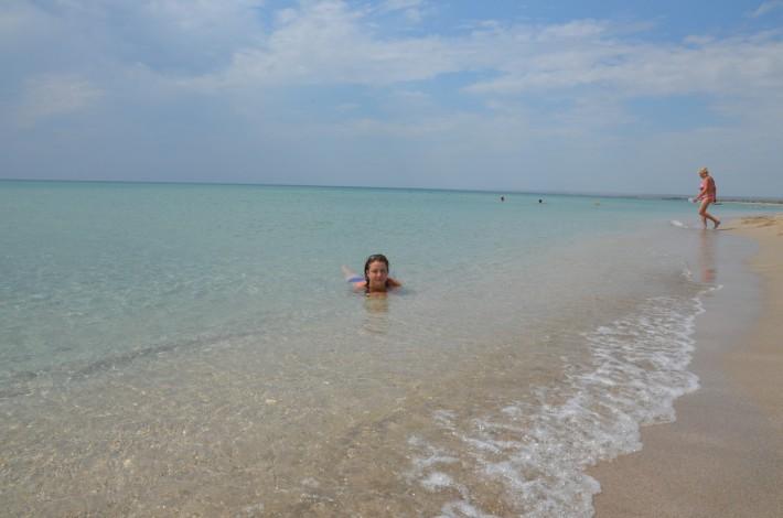 Пляж Беляус в 20 км от Черноморского. Заповедные места