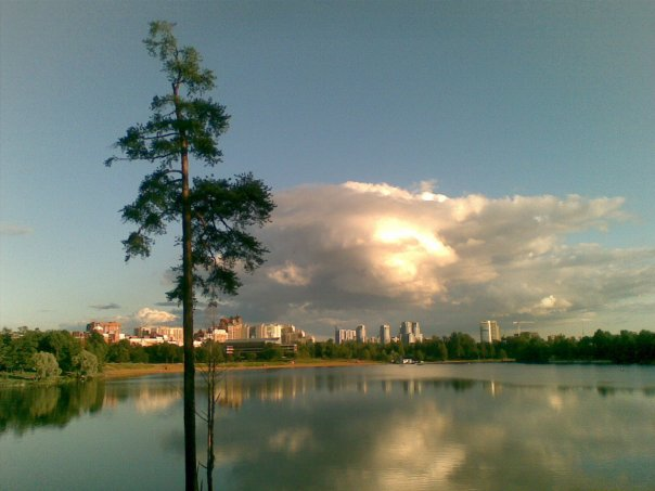 Летом воздух свежий и чистый