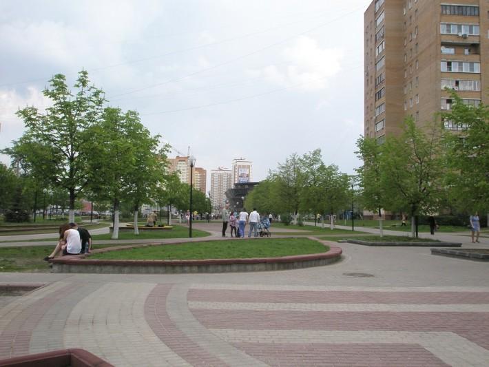 Центральный сквер города
