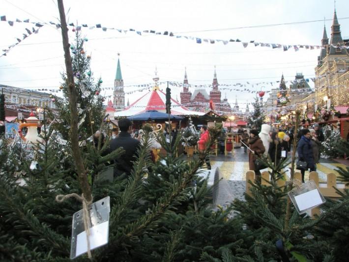 Москва перед Новым годом