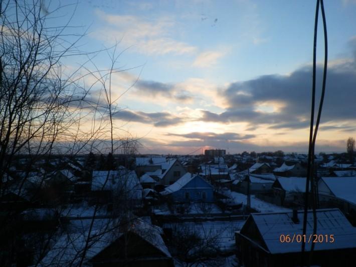«Воруй город» - вид из окна