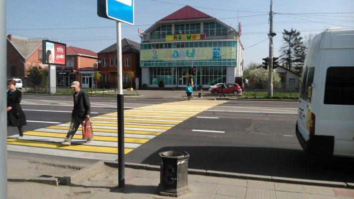 Типичный пешеходный переход