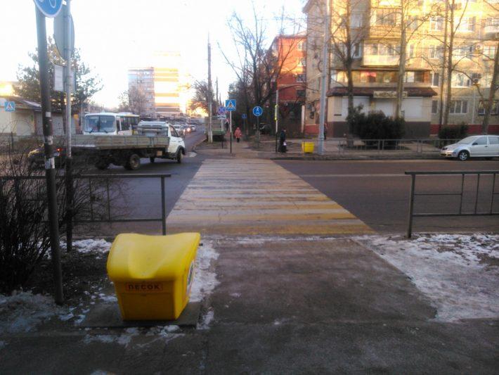 Песок для посыпки тротуаров Краснодара