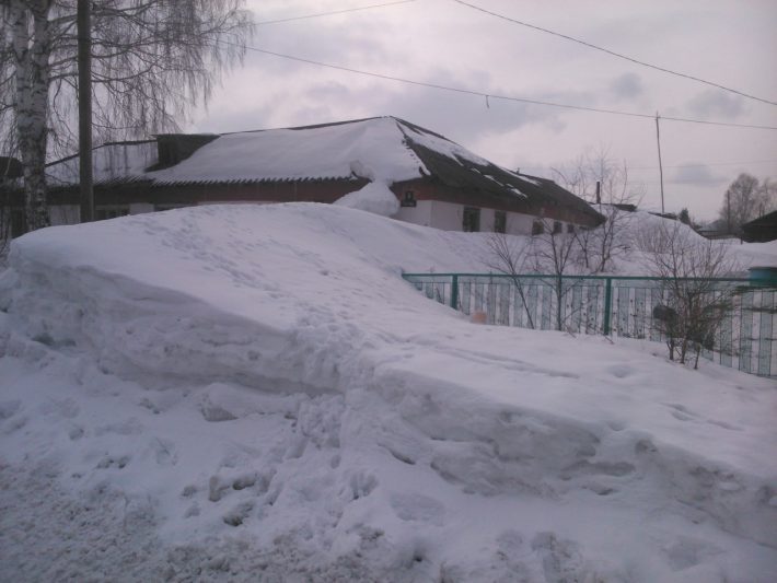 Сугроб, Алтайский край