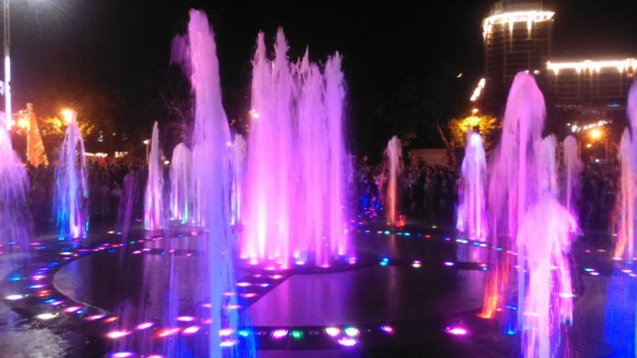 Поющие фонтаны Краснодара