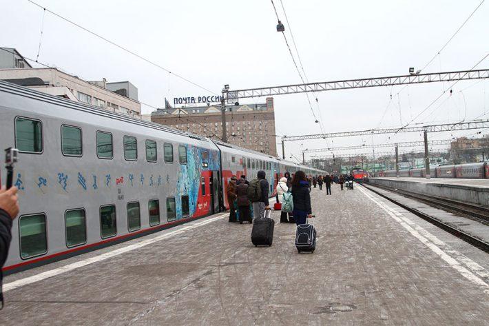 Поезд Москва-Адлер