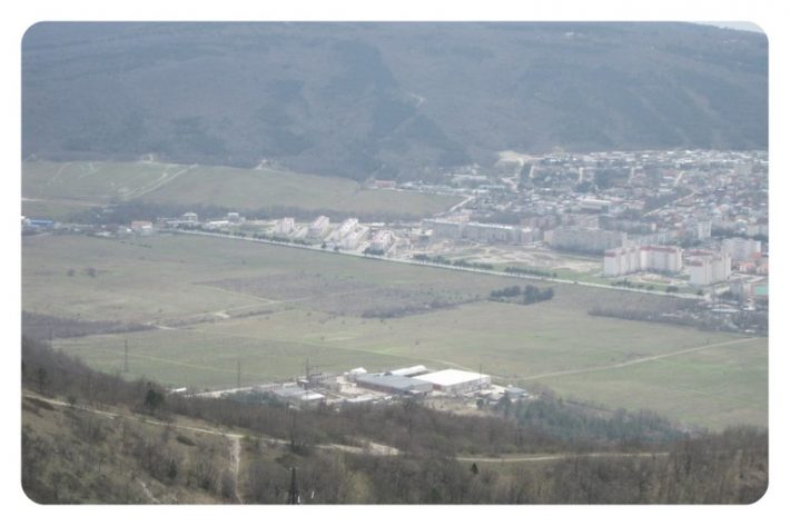 Вид с Маркотха на районы Магелат и Южный