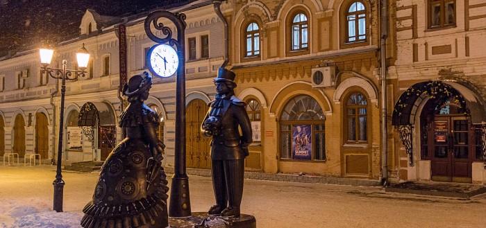 Улица Спасская, одна из наиболее интересных улиц города
