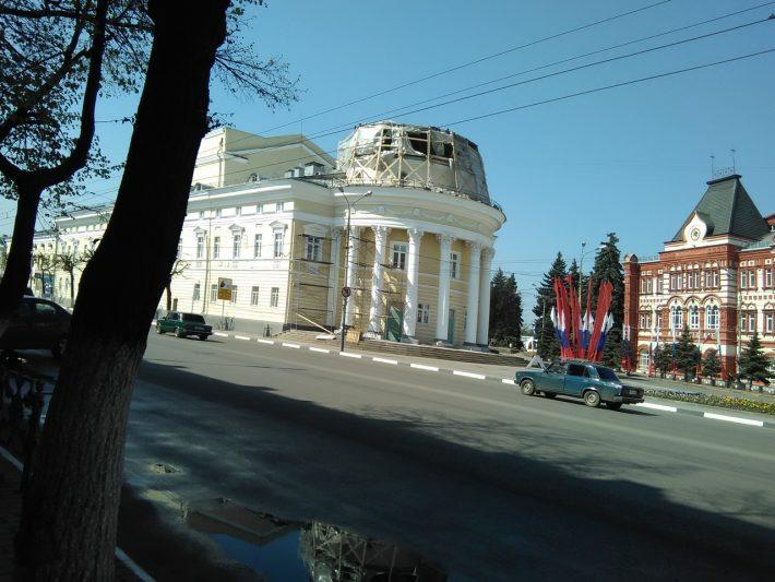 Скоро юбилей города...почти готово)