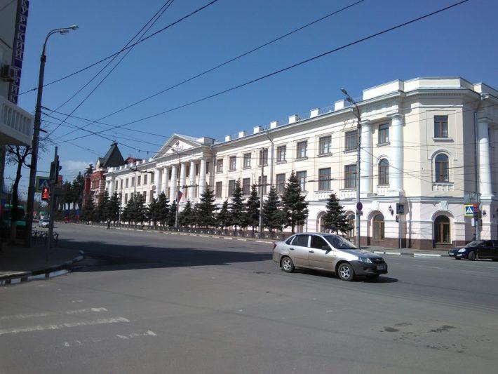 Типично по-сталински в центре
