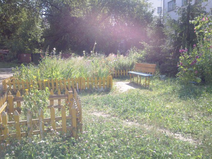 Это наш красивый двор
