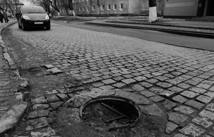 Брусчатка на улицах