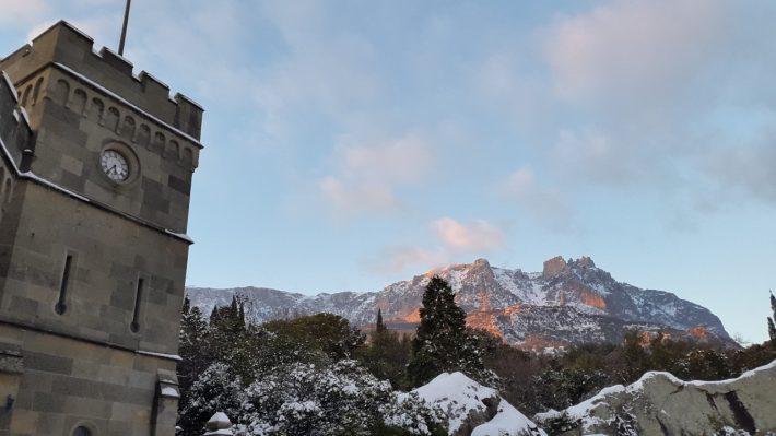 Крым зимой 2017