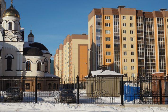 """Воронежские """"панельки""""."""