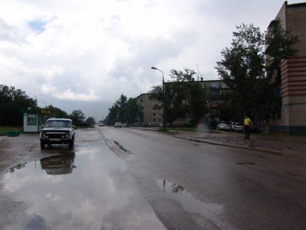 Яровое после дождя