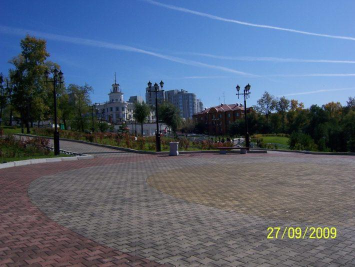 Сентябрь 2009. Хабаровск