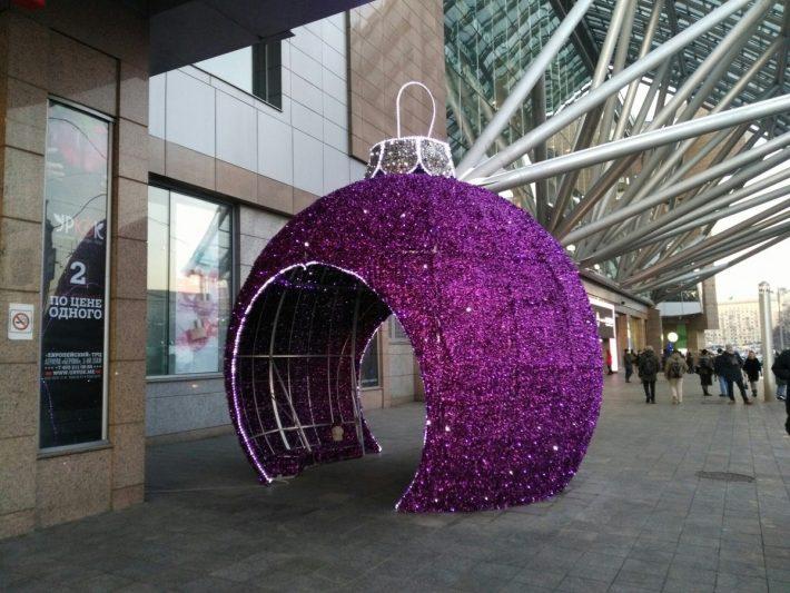 Декорации к Новому году