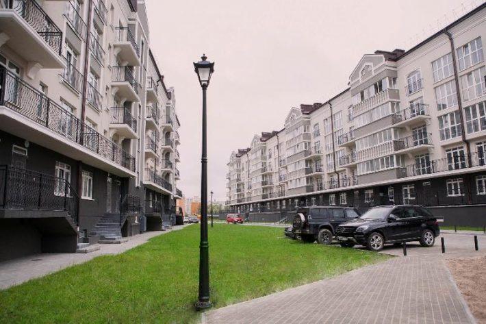 Один из новых районов города