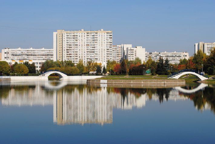 Михайловский пруд в Зеленограде