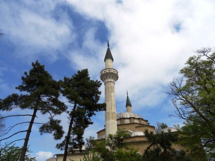Старинная мечеть в Евпатории