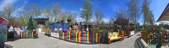 Бердск, Городской парк, аттракционы