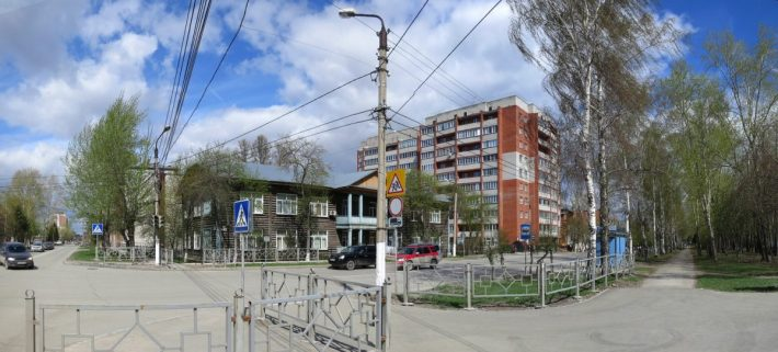 Бердск, ул. Свердлова, медицинский колледж