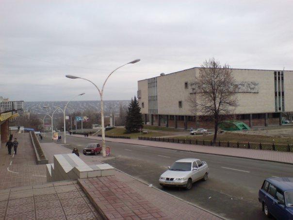 Вид с драматического театра на Камброд