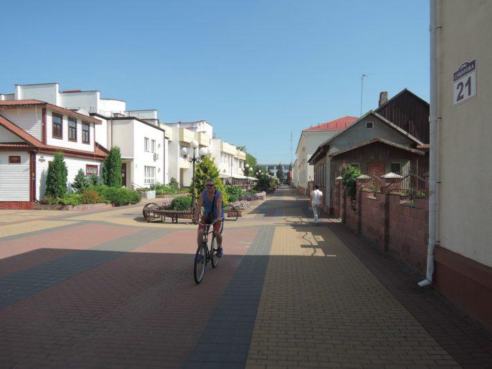 Местная достопримечательность - улица Суворова в Кобрине
