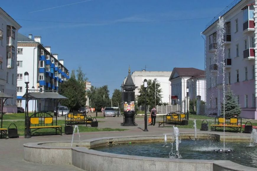 Прогулочная улица Зеленодольска