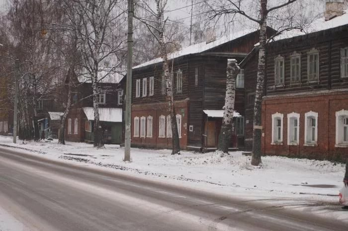 Старые дома ещё есть, но их мало