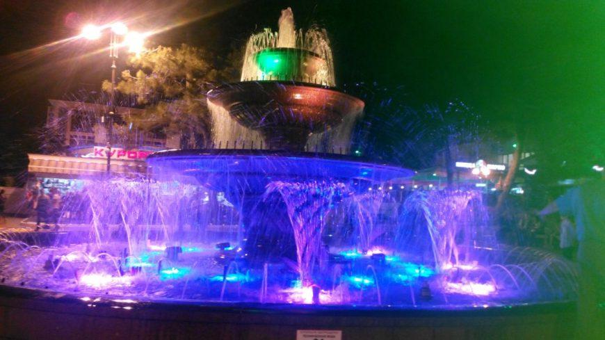 Геленджик. Поющий фонтан