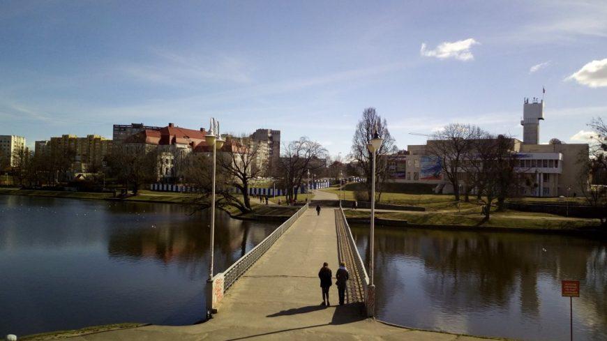 Калининград. Нижний пруд