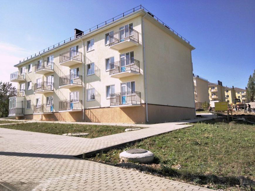 Новый микрорайон на Катыхина