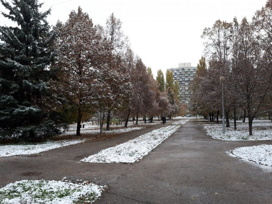 Сквер на пр. Ленина