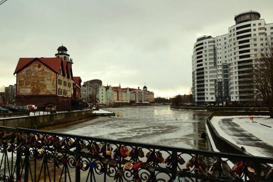 Зимний Калининград