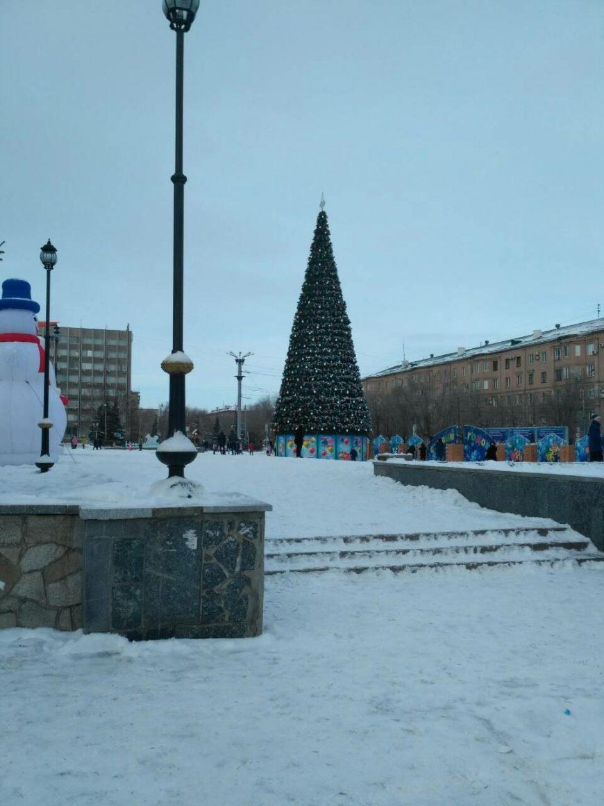 Площадь в Орске