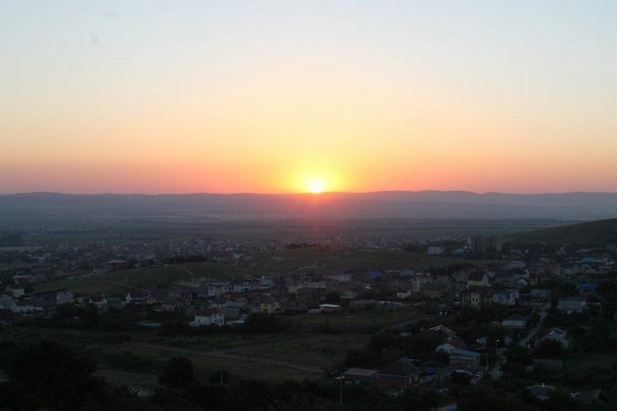 Восход солнца над Супсехом
