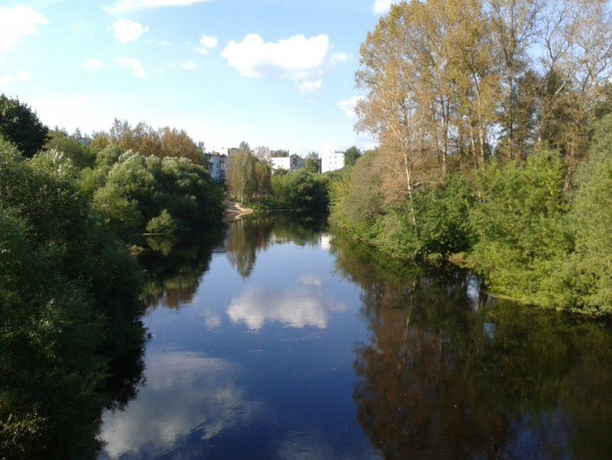 Это река Луга