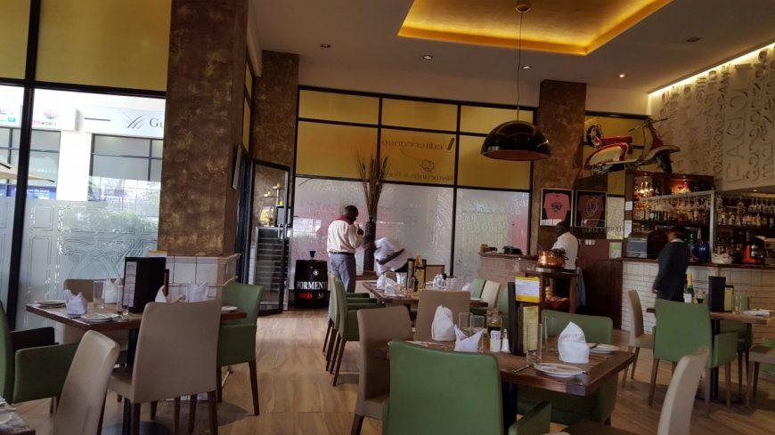 Кафе в Кении