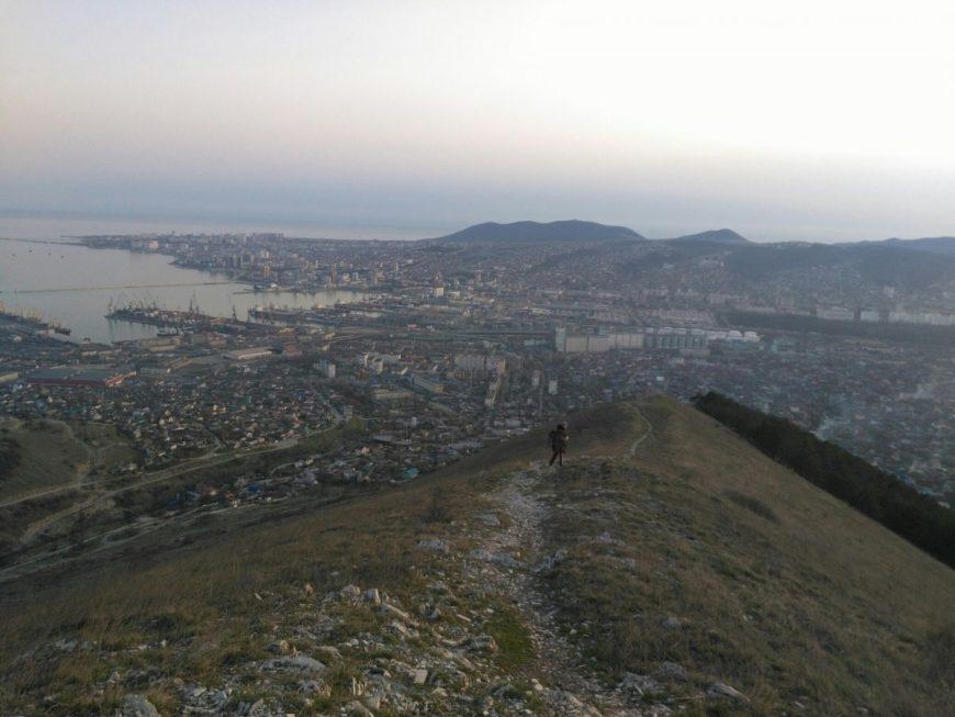 Вид на Новороссийск с г. Семигорки