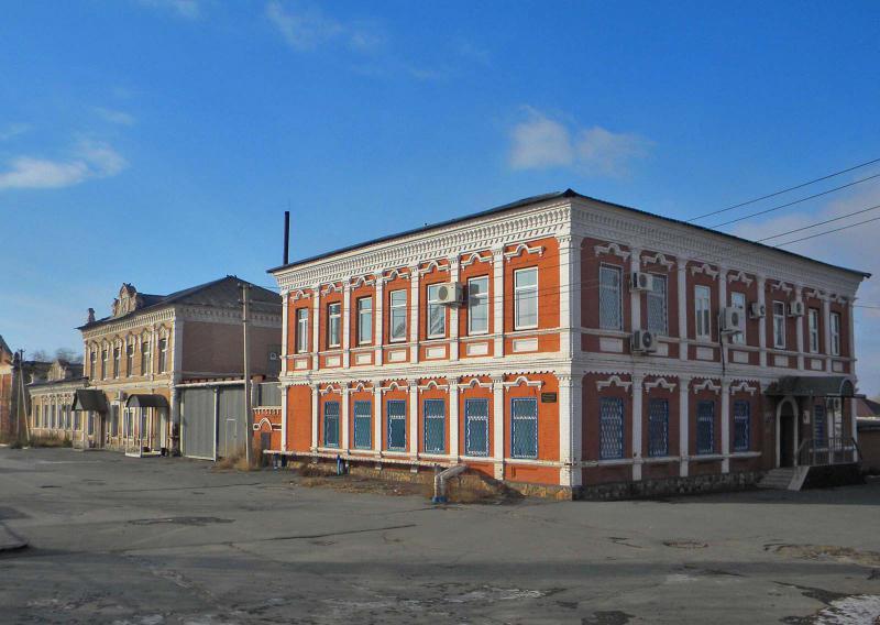 Раритетные дома Старой части Орска