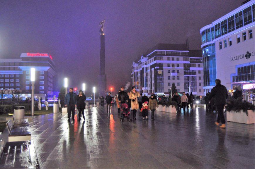 Новогодний Ставрополь