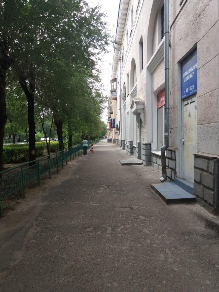 Обычная улица в старой части города