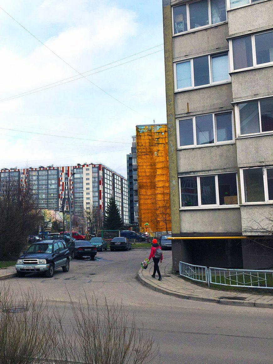 То, чего Калининград не лишен: панельки и подступающие со всех сторон новые человейники