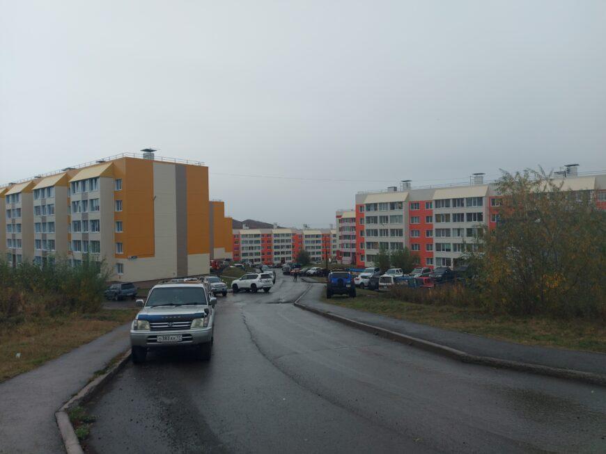 Один из жилых кварталов микрорайона Северо-Восток
