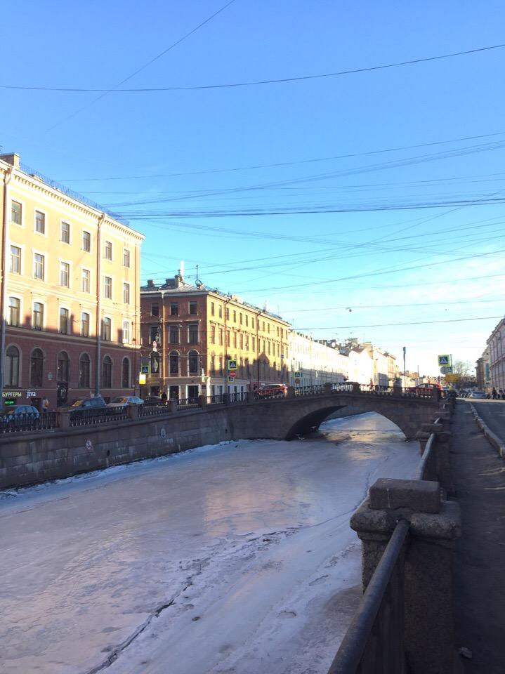 Канал Грибоедова зимой