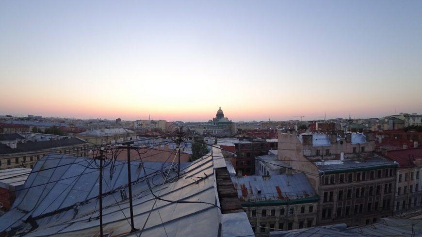 Питерские крыши