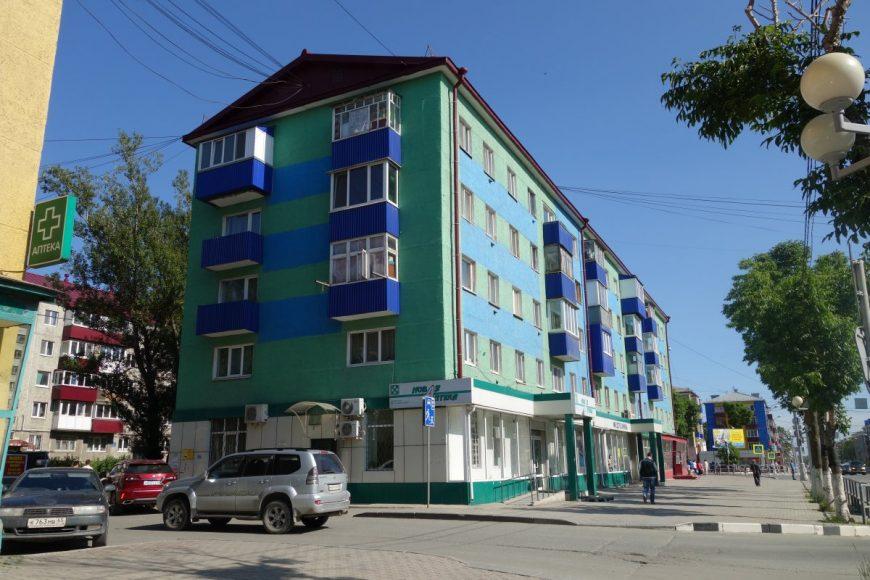 Хрущевка на улице Ленина