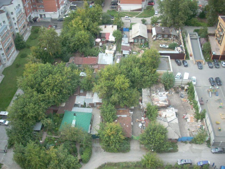Частный сектор в Новосибирске