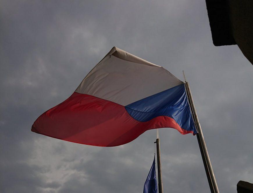 Национальный флаг Чехии